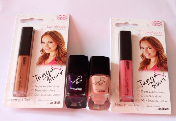 Tanya Burr Lips & Nails