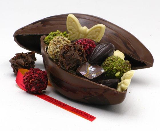 Chococo mothers day cocoa pod