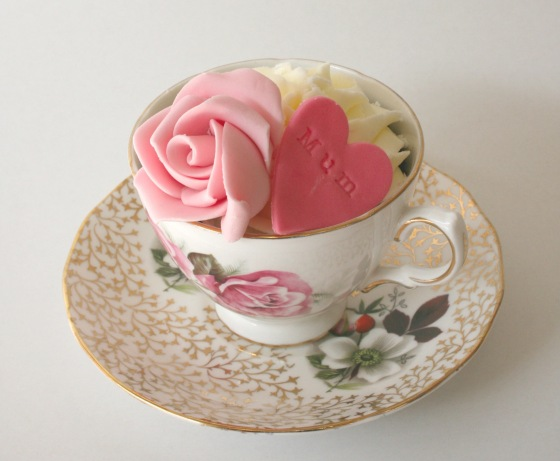 Mothers day teacup