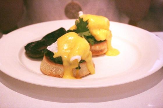 Charlotte Street Hotel Eggs Florentine