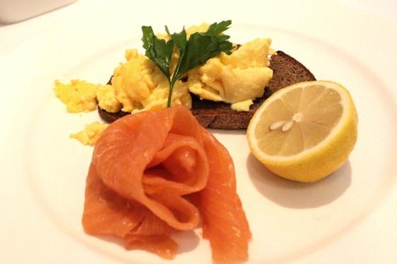 Charlotte Street Hotel Scrambled Eggs