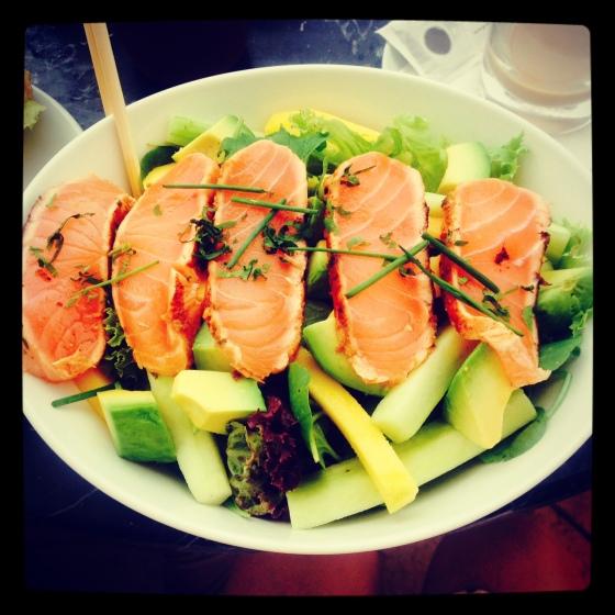 salmon teryaki