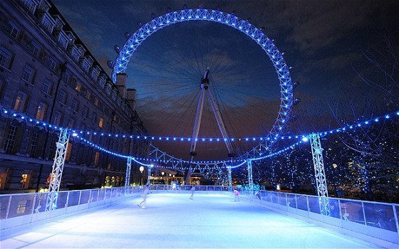 London Eye Ice Skate