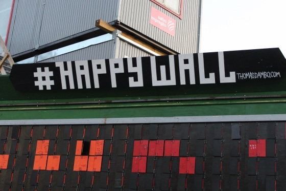 copenhagen happy wall
