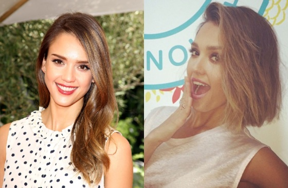 Jessica Alba before and after